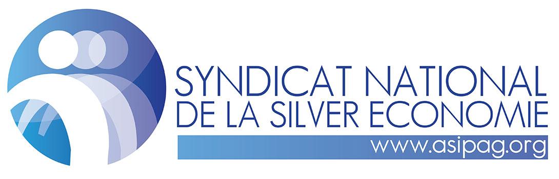 Logo ASIPAG, Syndicat National de la Silver économie, professionnels de la gérontechnologie.